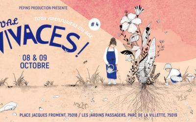 Festival Vivaces – Samedi 9 octobre